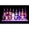 2 tier LED liquor bottle shelf display