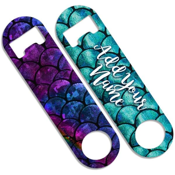 CUSTOMIZABLE Skinny Mini Bottle Opener - Mermaid Scales