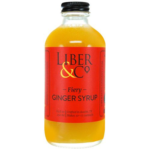 Liber &Co - Fiery Ginger Syrup