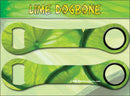 Dog Bone Bottle Opener - Lime