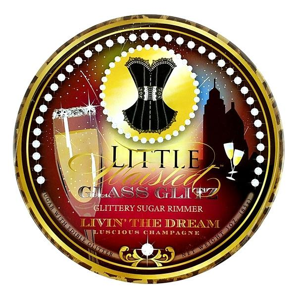 Little Waisted Glass Glitz - Glittery Sugar Rimmer