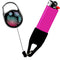 Premium Clip Lighter Leash® - Floral - Pink / Blue / Purple