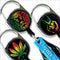Premium Clip Lighter Leash® - 3 Pack - Rasta Series