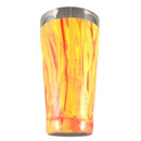 Yellow/Red Swirl Vinylworks MAKO - 30 oz. Cocktail Shaker Tin