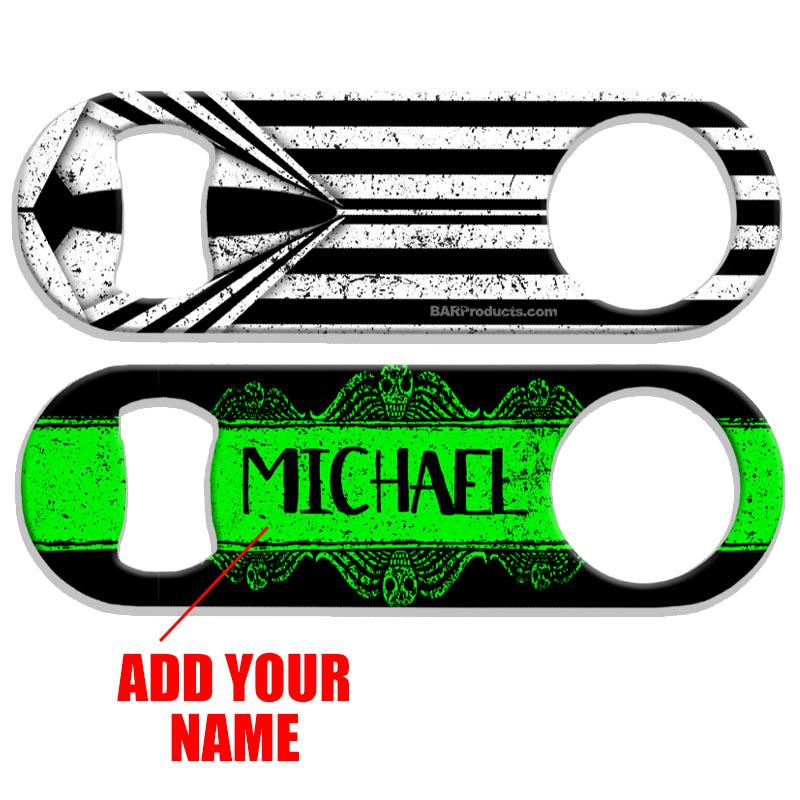 Customizable Medium Speed Bottle Opener - Halloween 1