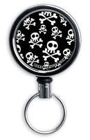 Retractable Reels for Bottle Openers – Skulls