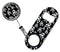 Kolorcoat® Mini Opener and Retractable Reel SET – Skulls