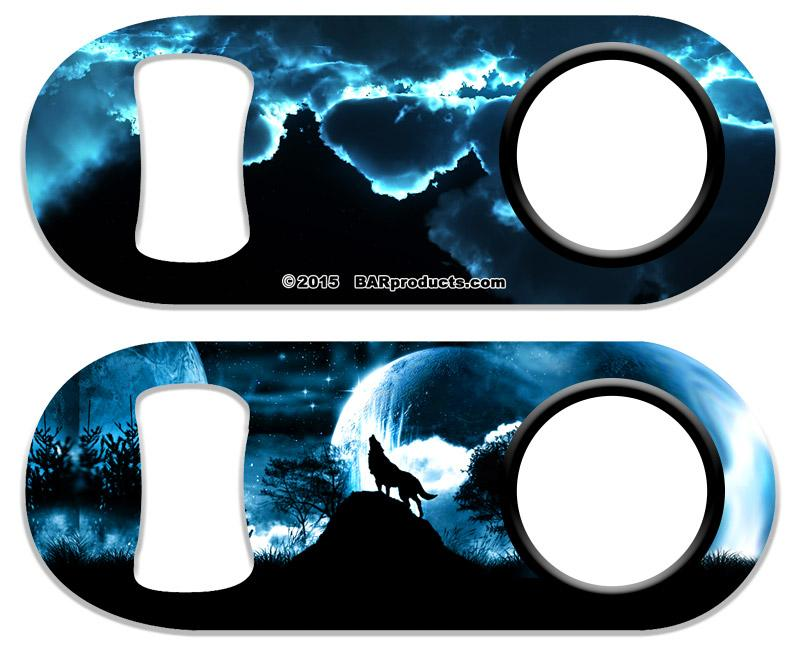 Kolorcoat® Mini Bottle Opener – Wolf