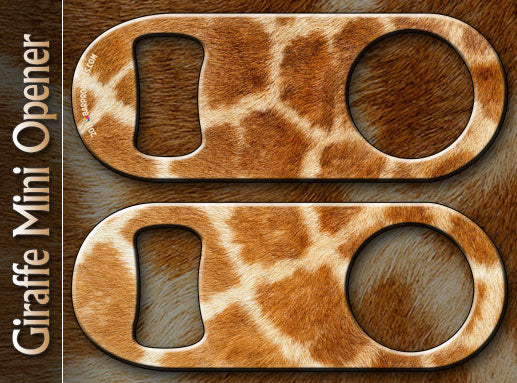 Giraffe Mini Bottle Opener