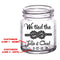 CUSTOMIZABLE Clear Mini Mason Jar Shot Glass - Tied The Knot - 2oz