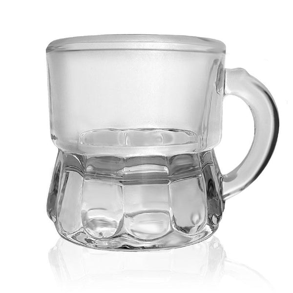Clear Shot Glass - Mini Mug Design - 1ounce