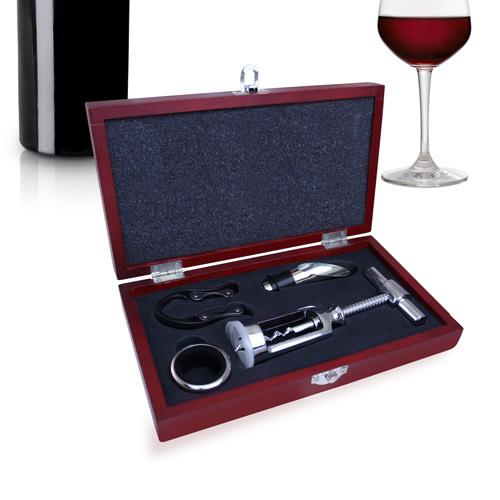 Mini Traditional Wine Opener Set