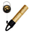 Mister Leash™ - Retractable Clip-on Atomizer for Hand Sanitizers - Golden Prism Design - Refillable
