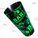 Boston Shaker Tin - Printed Designer Series - 28oz weighted - NEON Green Grungy BPC Logo