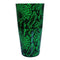 Cocktail Shaker Tin - Printed Designer Series - 28oz weighted - NEON GREEN Snake Skin
