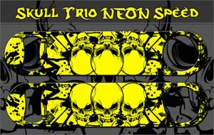 Neon Skull Trio Speed Bottle Opener