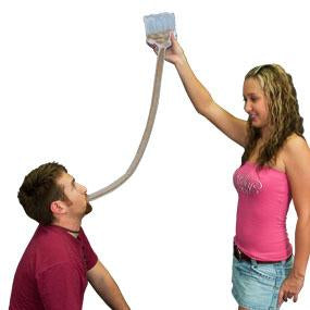 Jellyfish Inflatable Funnel Beer Bong