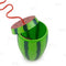 BarConic® Watermelon Novelty Cup w/Lid and Straw - 28 Oz