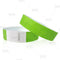 Neon Green Paper Wristbands