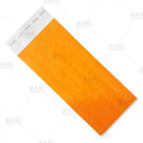 Neon Orange Paper Wristbands