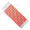 Paper Wristbands - Red Striped
