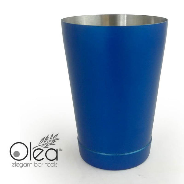 Olea™ Cocktail Shaker - Metallic Blue NEON - 16oz Weighted