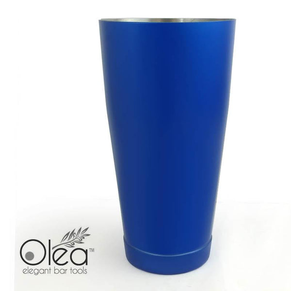 Olea™ Cocktail Shaker - Metallic Blue NEON - 28oz Weighted
