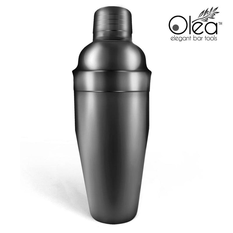 Olea™ Bar Set - Gunmetal Black - 4 Piece (Bar Spoon Tip Option)