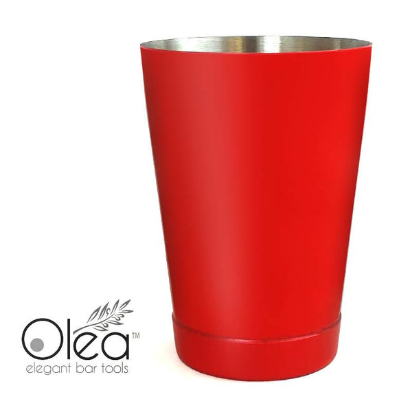 Olea™ Cocktail Shaker - Metallic Red NEON - 16oz Weighted