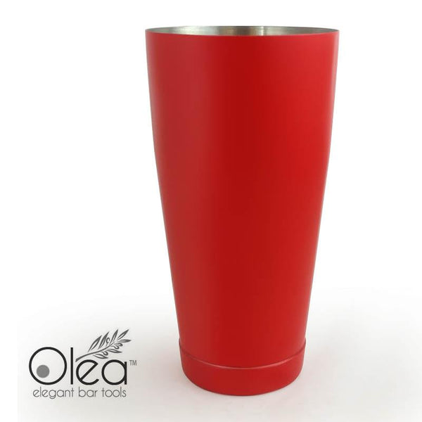 Olea™ Cocktail Shaker - Metallic Red NEON - 28oz Weighted