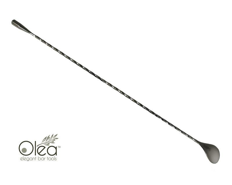 Olea™ Bar Spoon - Gunmetal Plated with Weighted Tip (40cm)