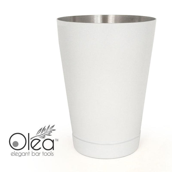 Olea™ Cocktail Shaker - Matte White - 16oz Weighted
