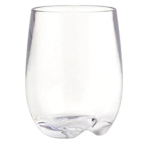 Strahl® Stemless Osteria, Clear - 8 oz