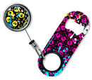 Kolorcoat™ Mini Opener with Retractable Reel SET  - Splattered Skulls