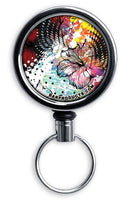 Retractable Reels for Bottle Openers – Painted Floral