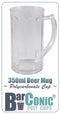 BarConic 350ml Polycarbonate Paneled Beer Mug