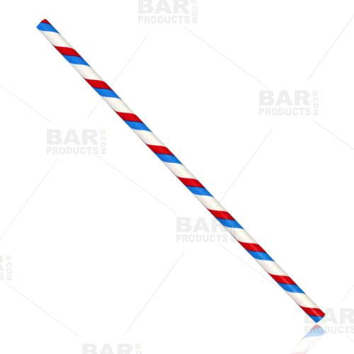BarConic® Eco-Friendly Paper Straws - USA - 100 pack