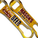 CUSTOMIZABLE V-Rod Bottle Opener - Vintage Ice Cold Beer