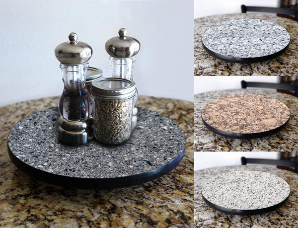 GRANITE Design Lazy Susan - 3 Different Sizes - For Kitchen Table Top