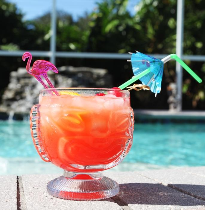 "Flamingo Cocktail Drink Stirrers - 5.75"" Long"