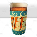Pint Glass Cooler - Ice Cold Beer Insert Here