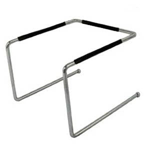 Chrome Plated Pizza Tray Stand - Options