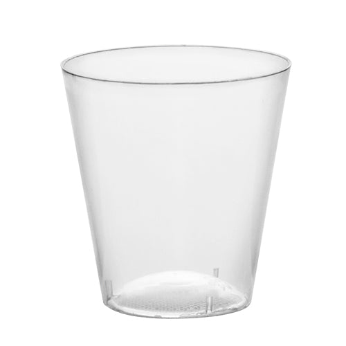 Barconic® Clear 2 oz. Plastic Shot Cups