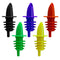 Plastic Liquor Pourer (12 pack)