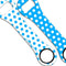Kolorcoat™ Dog Bone Bottle Opener - Polka Dot - BLUE / WHITE