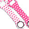 Kolorcoat™ Dog Bone Bottle Opener - Polka Dot - PINK / WHITE