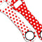Kolorcoat™ Dog Bone Bottle Opener - Polka Dot - RED / WHITE