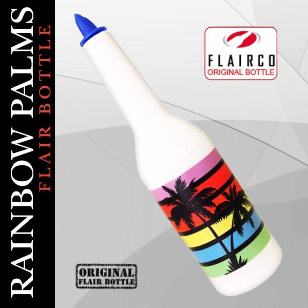 Kolorcoat™ Flair Bottle - Rainbow Palms Design - 750ml