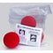 "Bar Magic"" – Red Sponge Balls – Packs of 4 - 2.5"" Diameter"