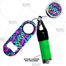 Kolorcoat™ Mini Opener, Reel and Lighter Leash® Clug SET - Tie Dye